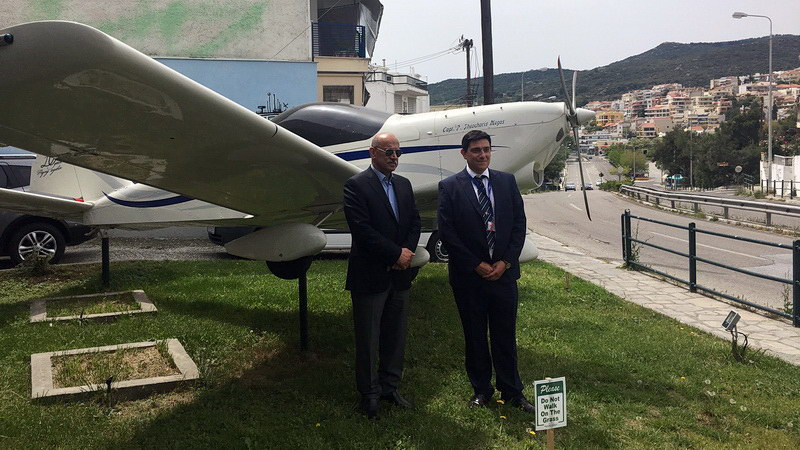 Καβάλα: Επίσκεψη του Ιρακινού Υπουργού Μεταφορών στην Egnatia Aviation