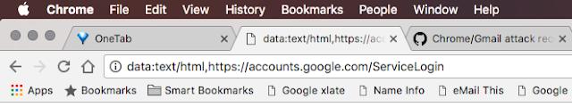 false URL