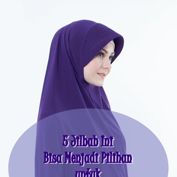5 Jilbab Ini Bisa Menjadi Pilihan untuk Kreasi Hijab yang Menarik