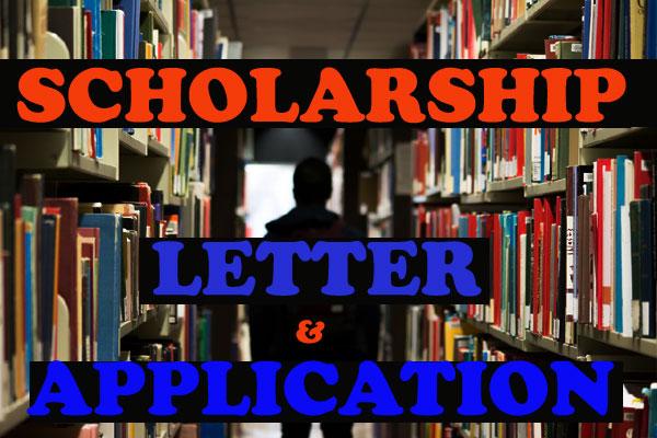scholarship ke liye application letter