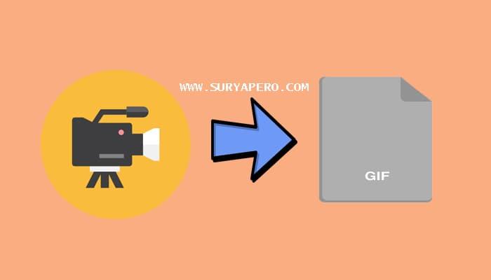 cara membuat potongan video menjadi gif