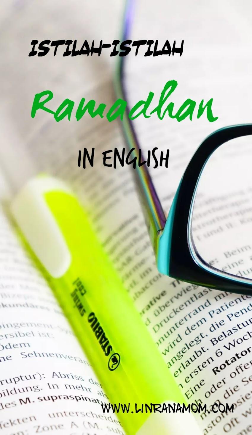 Istilah-istilah Ramadhan in English