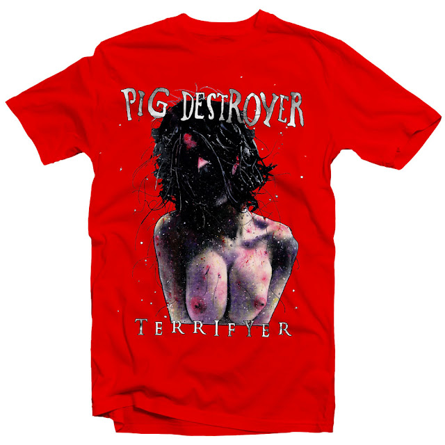 PIG DESTROYER TERRIFYER ALBUM