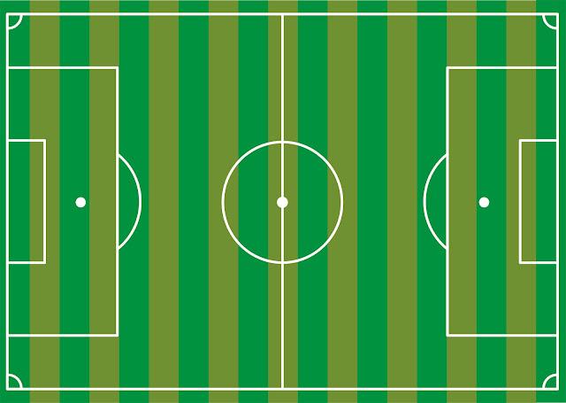 O campo e jogo no futebol