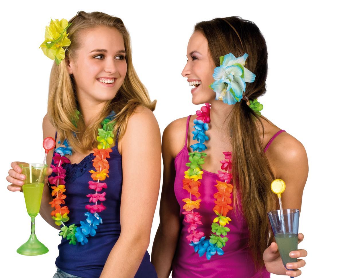 De Todas Las Manualidades Cómo Hacer Collares Hawaianos