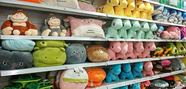 Stuffed toys and pillows - MR. D.I.Y.