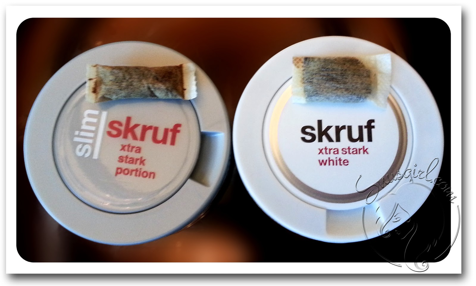 Skruf Xtra Strong White And Slim Portions