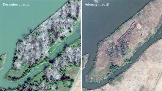 Myanmar arrasa pueblos rohingyas para borrar huellas de crímenes