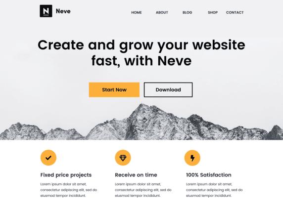 WordPress Tema-Neve