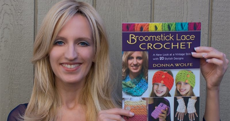 Positively Crochet Review Of Broomstick Lace Crochet Giveaway