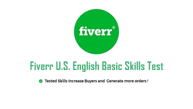 Fiverr Skill Test Answers 2021