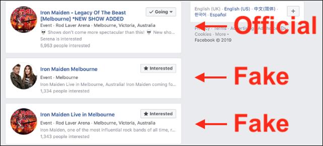 لسلامتكم بعد الآن، احذروا هذه الخدع السبعة على الفيسبوك! Fake_events