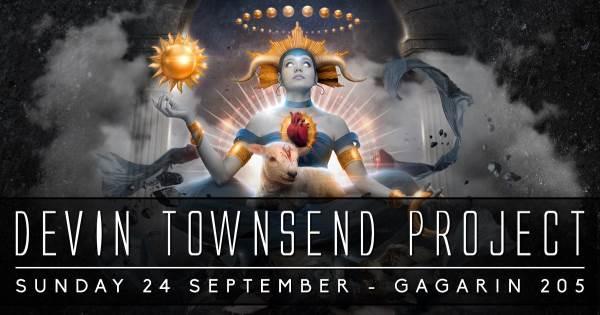 DEVIN TOWNSEND: Κυριακή 24 Σεπτεμβρίου @ Gagarin 205