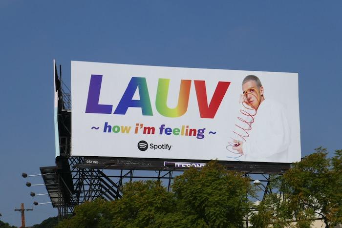 LAUV How Im feeling Spotify billboard