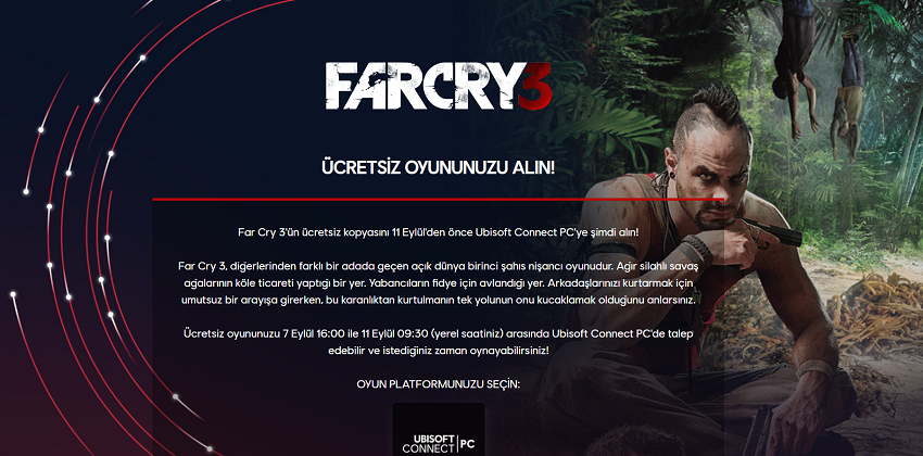 Far Cry 3 Ubisoft Ücretsiz indir