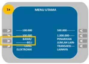 Cara Membayar UTBK Lewat ATM Mandiri