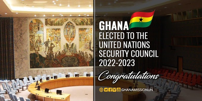 Ghana elected to the United Nations Security Council