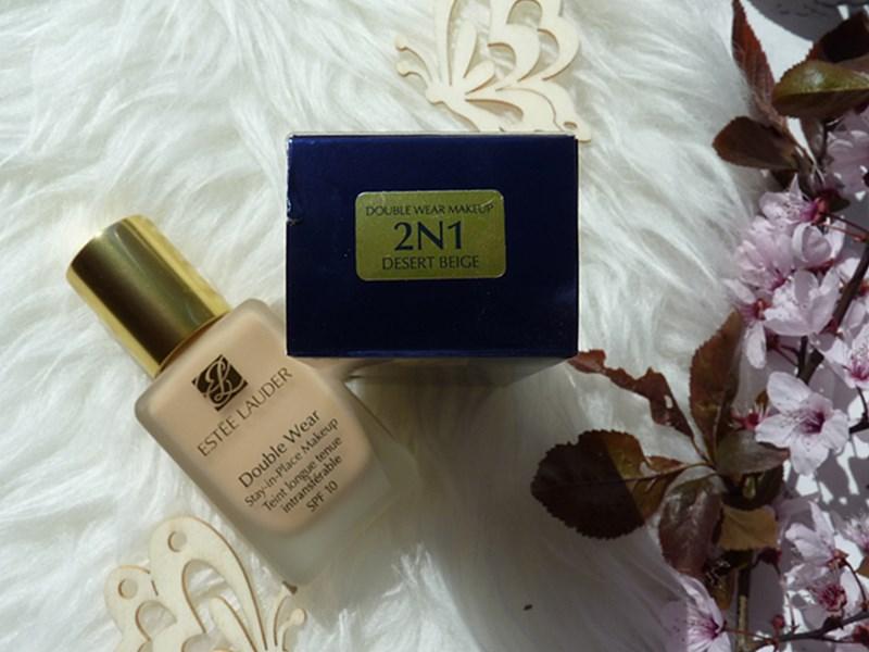 Estee Lauder Double Wear Stay-in-Place Makeup foundation podkład makijaż 2N1