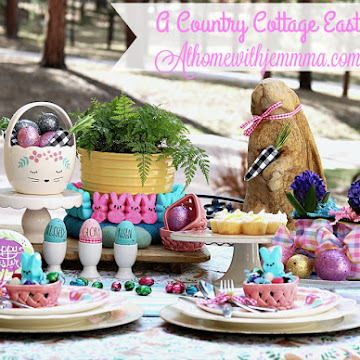Happy Easter and a Pastel Cottage Picnic