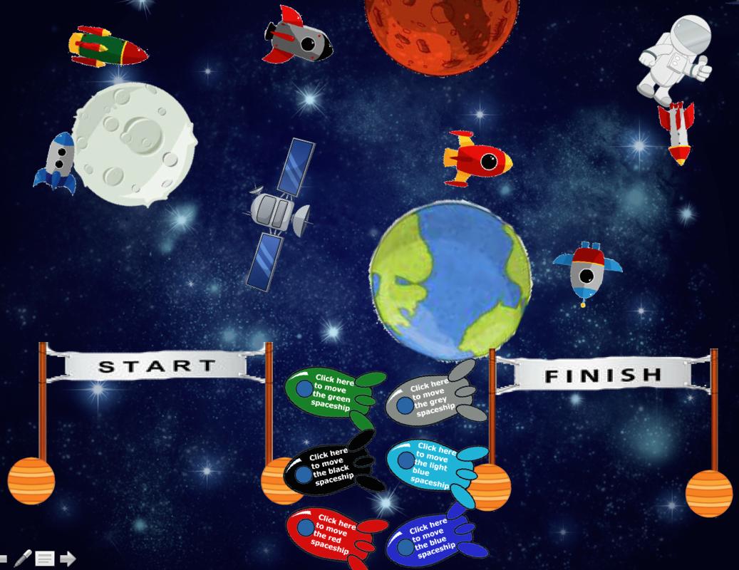 Esl Matt Erials Space Race