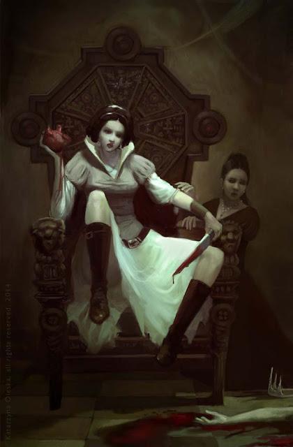 Revenge of the Snow White illustration
