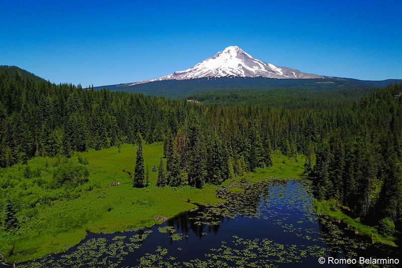 Mt. Hood National Forest Trillium Lake Trail 5 Great Hikes in Oregon's Mt. Hood Territory
