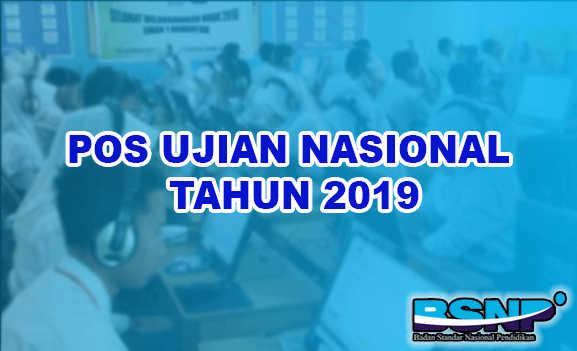 Download POS UN Resmi Tahun Pelajaran 2018/2019