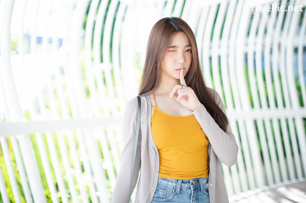 Image-Thailand-Cute-Model-Creammy-Chanama-Beautiful-Angel-In-Flower-Garden-TruePic.net- Picture-5