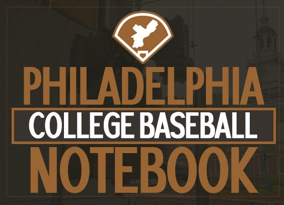 Philadelphia College Baseball Notebook