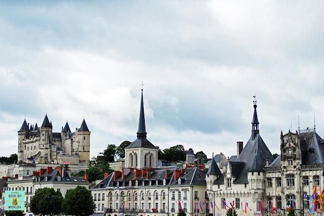 Castillo de Saumur en el Loira