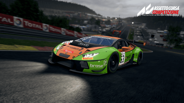 You can try Assetto Corsa Competizione for free