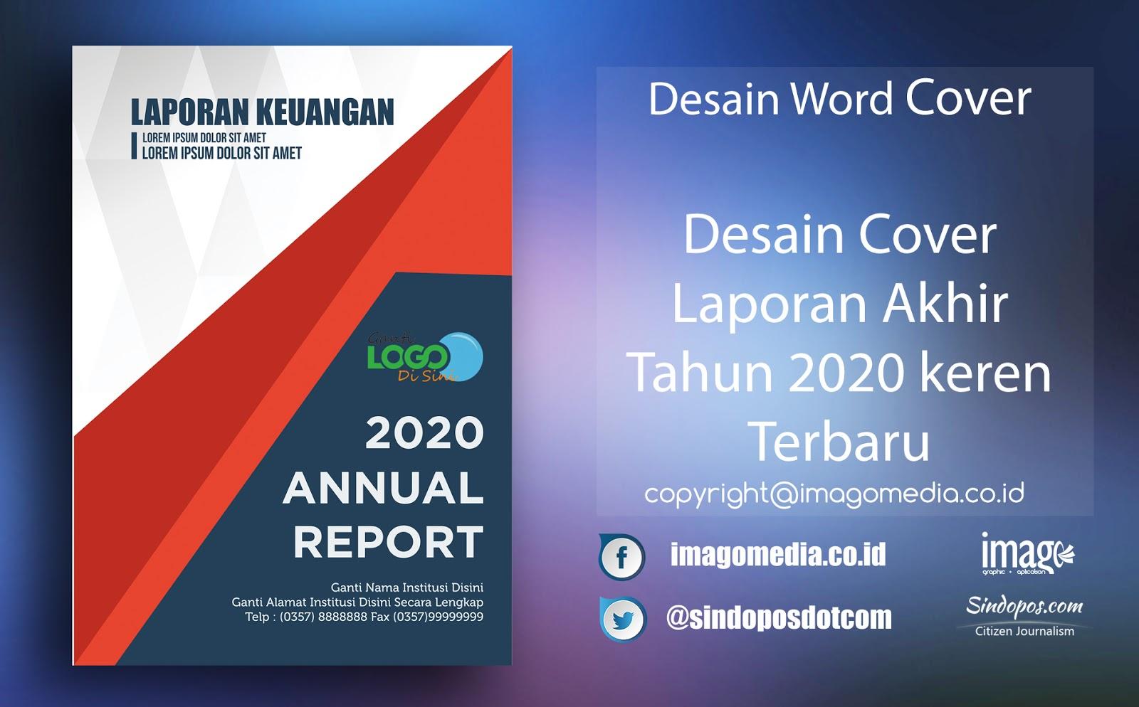 Download Artistik Desain Cover Laporan 2020 Keren Terbaru Imago Media Home Of Creativity