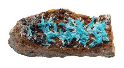 La auricalcita es un mineral que no es abundante, su principal uso es para el coleccionismo