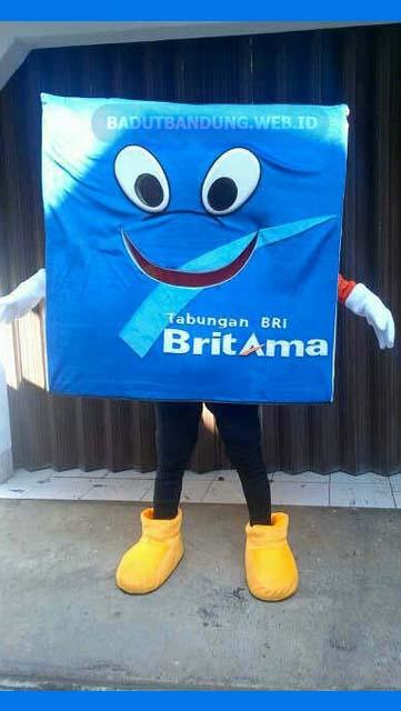 Badut Maskot Bank Britama