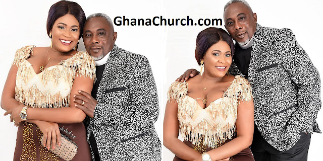 Actress Nayas 1 and Actor Apostle John Prah allegedly tied the knot (in marriage)
