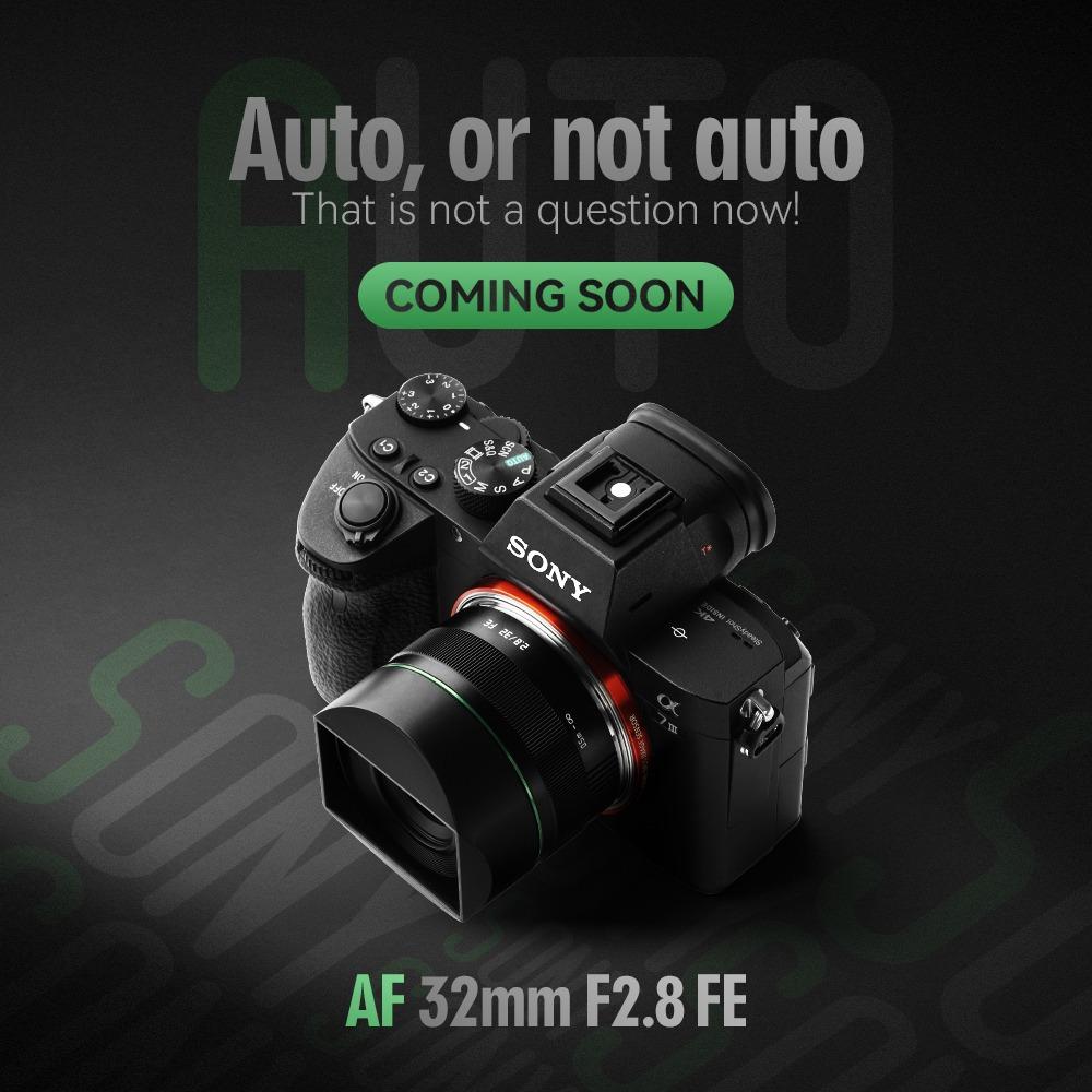 TTArtisan AF 32mm f/2.8 FE с камерой Sony