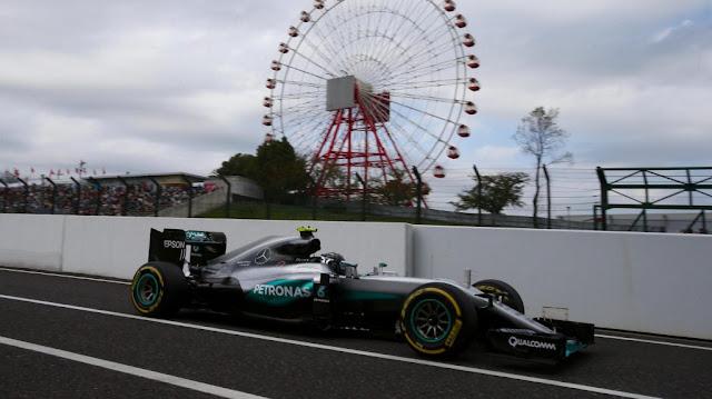Hasil Balapan GP F1, Suzuka, Jepang : Rosberg, Verstappen dan Hamilton