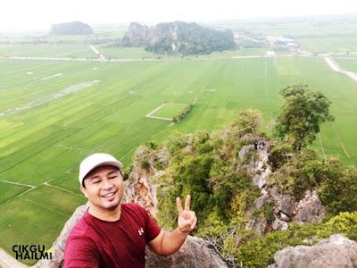 Happy dapat naik Bukit Mok Cun sampai pejam mata mata