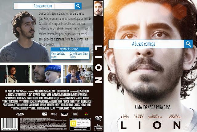 Capa DVD Lion Uma Jornada Para Casa [Exclusiva]