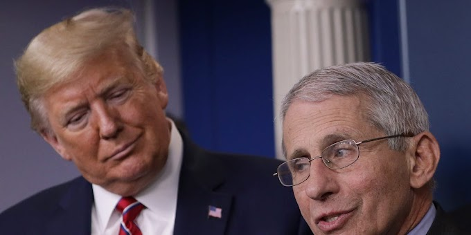 We are not in total control right now the Trump's handling of coronavirus, says Dr. Fauci
