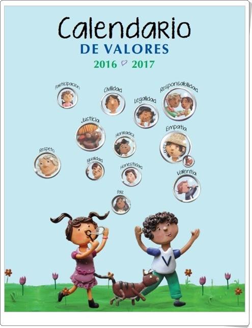 """""""Calendario de Valores 2016-17"""""""