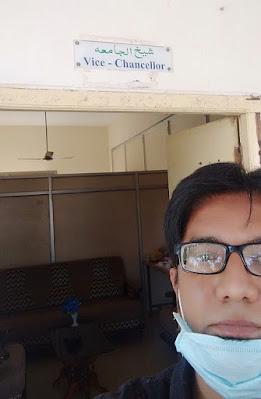 Mukarram Niyaz at Urdu University Kurnool
