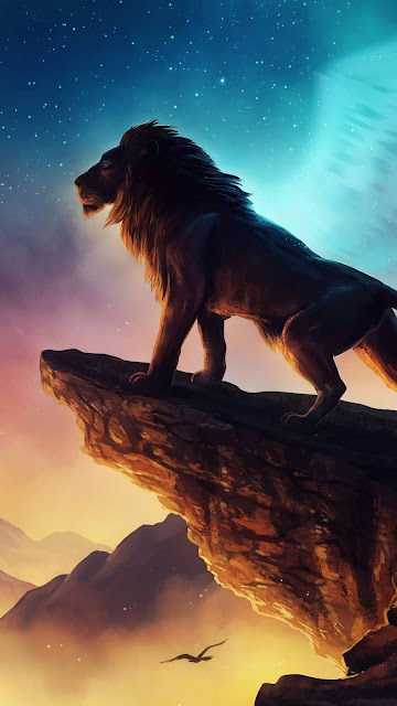 Wallpaper Hd Cool Lion Background