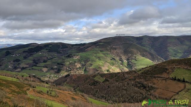 Alto del Acebo desde la Sierra de Pando