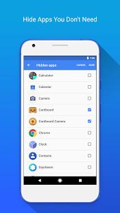 Apex launcher apk download screenshot