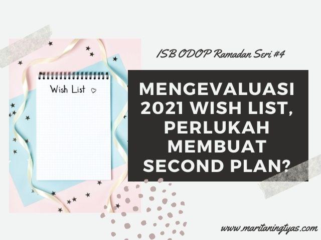mengevaluasi 2021 wish list