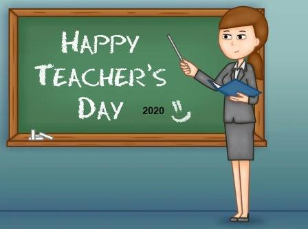 Virtual Teachers' Day 2020 : a scientific view with plan online teachers day celebration in lock-down period