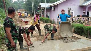 Abu Hasan Buka TMMD ke-95 di Aceh Tenggara