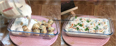 How to make Thayir Vadai, Curd Vada recipe, No deep fry urad dhal vadai recipe