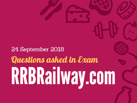 RRB Railway Group D 2018 Exam Analysis Questions Asked 24th September 2018 ( 1, 2, 3 Shifts) ( English & Hindi)